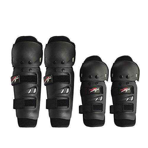 XIAOSHI Rodilleras Motocicletas Rodillas Almohadillas Motocross Racing Protective Engranajes Manos y Guardias Piernas 2 Knee 2 Protección de Codo Rodillera