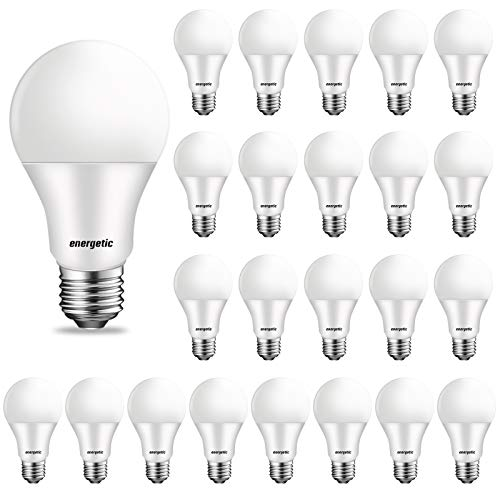 24-Pack 60W Equivalent LED Light Bulb, 2700K Soft White, E26...