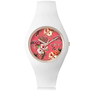 Ice-Watch - ICE flower Lunacy - Montre blanche pour femme avec bracelet en silicone - 001297 (Medium) (B00VMB4BWE) | Amazon price tracker / tracking, Amazon price history charts, Amazon price watches, Amazon price drop alerts