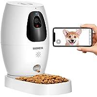 Hongsa Pet Camera & Treat Dispenser, 1080P Night Vision, Live Video, 2 Way Audio Communication