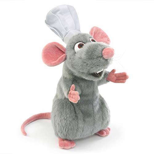 Folkmanis Remy - Pixar Hand Puppet, Gray, Pink, White (5020)