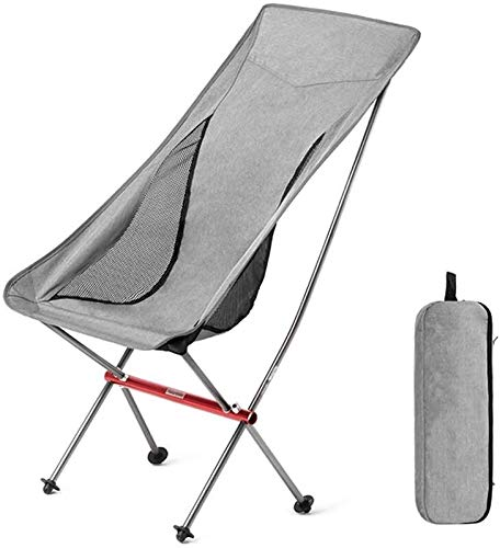 Chaise pliante Chaise de Camping Portable Mesh Bag Outdoor Camping Plage Voyage Picnic Festival Randonnée LITING (Color : A)