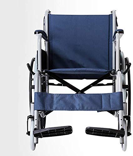 XUSHEN-HU Sillas de ruedas ligero plegable silla de ruedas conducción médica adulto suministros médicos ligero