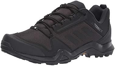 adidas outdoor mens Terrex Ax3 Hiking Boot, Black/Black/Carbon, 10.5 US
