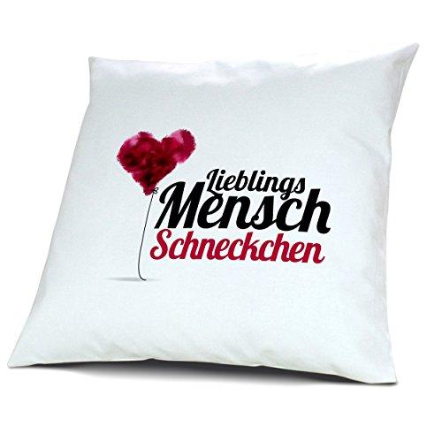 Kopfkissen mit Namen Schneckchen - Motiv