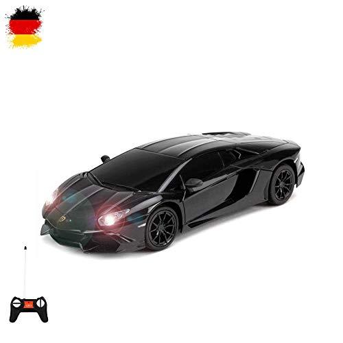 Lamborghini Aventador LP720-4 - RC ferngesteuertes Modell-Fahrzeug im Original-Design lizenziert, Modell-Maßstab 1:24, Ready-to-Drive, Auto inkl. Fernsteuerung