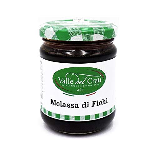 Melassa di Fichi - Specialità Calabrese Prodotto Tipico Calabria Ideale Per Formaggi O Preparazione Dolci Crema Spalmabile Confezione Conserva In Vetro Da 230 gr