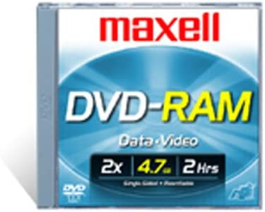 All stores are sold Maxell DVD-RAM47 DISC 4.7GB 2021new shipping free Rewritable DVD-RAM 3 Video Disc for