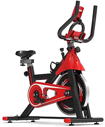 Bicicleta giratoria deportiva vertical bicicleta de ejercicio en casa oficina bicicleta de ejercicio tamaño ajustable para montar en interiores fijos bicicleta de ejercicio para