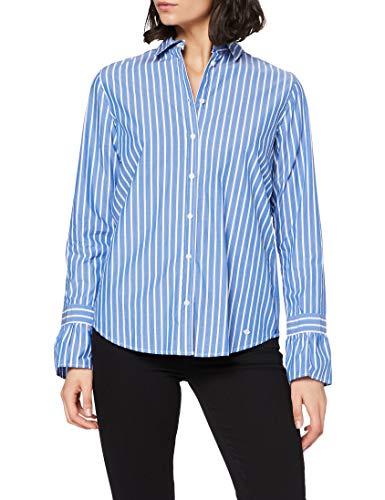 BRAX Damen Style Victoria Bluse, ROYAL Blue, 40