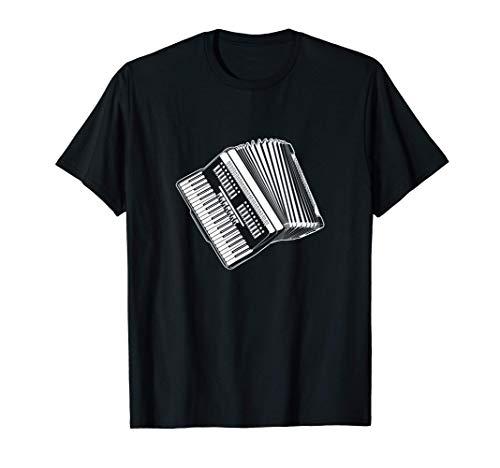 Regalo de bandoneón para acordeonistas Acordeón Camiseta