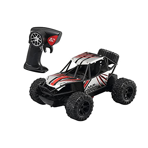 KGUANG Little High Speed Boy Alloy RC Car 1:20 Escala Anticolisión Amortiguador 2.4G Control Remoto Buggy Carga Vehículo de Juguete para niños Cumpleaños Camión
