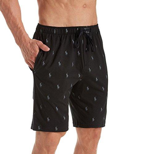 Polo Ralph Lauren Knit Sleep Shorts Polo Black/Active Grey Aopp LG
