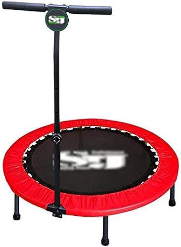 40 Zoll-Trampoline Falten Das aufprallende Bett-Erwachsene Gymnastik-springende Innenbett, Das Bewegungs-aufprallendes Bett abnimmt