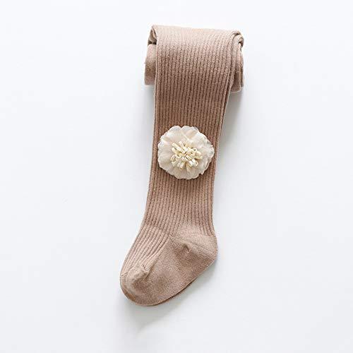 SanQing LOVE Les Filles d'hiver Doux Pantalons Collant Tight Knit Leggings bébé Couleur Solide Chaud Chaussettes Longues Pantalons bébé Convient pour 0-8 Ans Filles âgées,café,XL