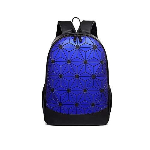 TTD Geometrische Rucksack Diamant Laser Schulrucksack große kapazität Casual Bag Bunte leuchtende Tasche für männer oder Frauen