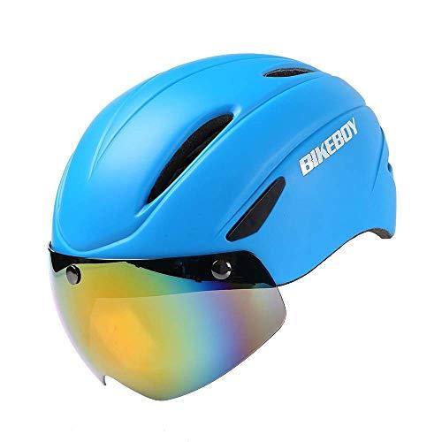 NINGXUE-MAOY Fahrradhelm Männlich Rennrad Mountainbike Reithelm Leichte Atemschutzhelm Fahrradhelm (Farbe: 4, Größe: 35 * 24 * 27cm) Sicherheit (Color : 1, Size : 35 * 24 * 27cm)