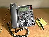 AMPLICOMMS AMPLICOMMS PowerTel 96Big Button Handy mit Mega Verstärkung & SOS Taste