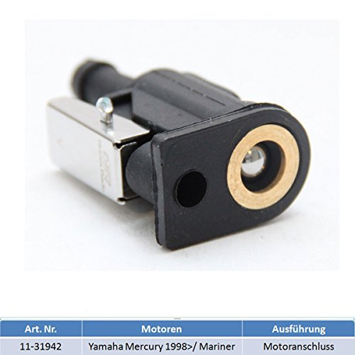 Motoranschluss Adapter Benzintank Außenborder für Yamaha, Mercury 1998 >/ Mariner