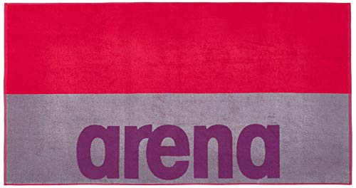 ARENA Toalla Beach Soft Towel, Unisex Adulto, Ash Grey/Freak, Talla Única
