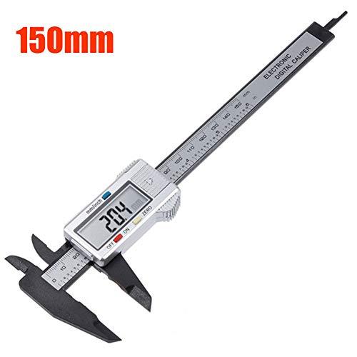 FTHKK Digital Caliper 6 Zoll Messschieber 100mm Messschieber Mikrometer Digital Lineal Messwerkzeug 150mm 0,1mm