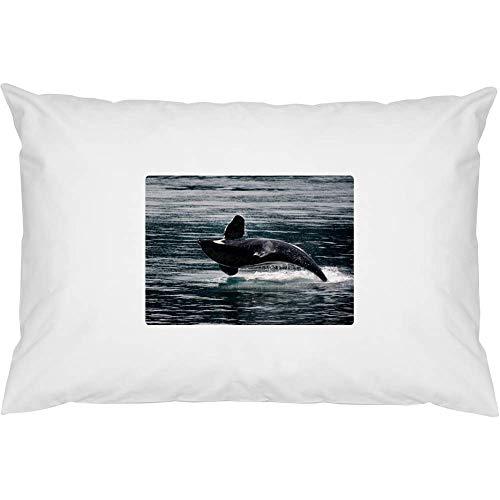 Azeeda 'Orca Whale' Cotton Pillow Cases (PW00008945)