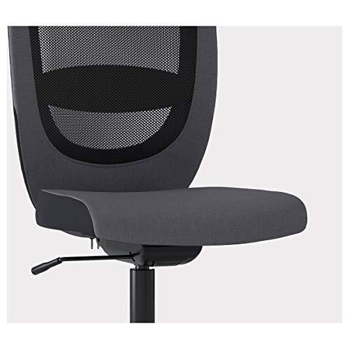 IKEA FLINTAN Bürostuhl 74x69 cm Vissle grau