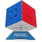 スピードキューブ FAVNIC 3×3 令和進化版進化型 回転スムーズ 競技用 立体パズル 世界基準配色 パズルスタンド付き