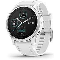 Garmin fenix 6S Multisport GPS Smartwatch (42mm, White / White Band)