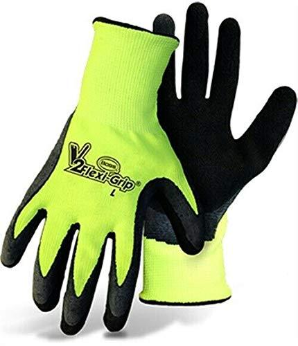 V2 Flexi-Grip High-Vis Polyester Knit Glove by Mfg Company, 3PK