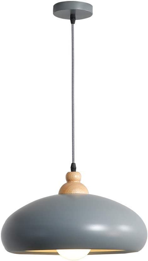 Liunce Single Head Wrought Iron Pendant Bedroom Light Max 83% OFF Free Shipping Cheap Bargain Gift Nordic Met
