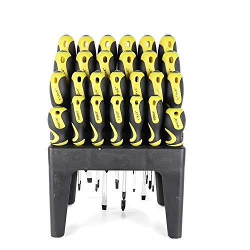 CPH20 Juego de destornilladores hexagonales ranurados para reparación de aparatos electrónicos, kit de herramientas portátil de 26 piezas