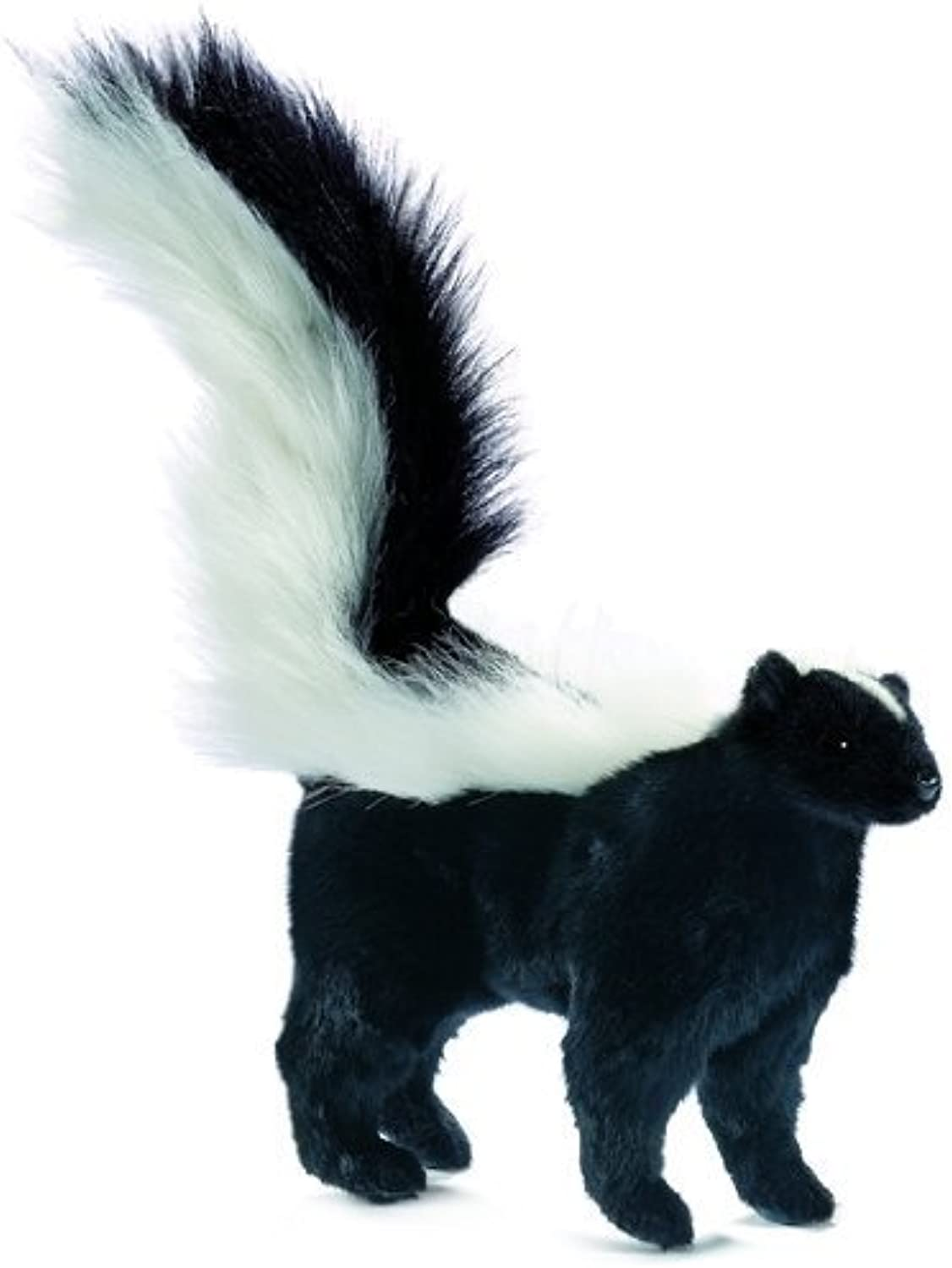 Plush Soft Toy Skunk by Hansa. 34cm.4730 by Hansa