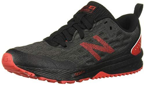 New Balance Boys' Nitrel V5 Running Shoe, Black/Phantom, 10.5 W US Little Kid