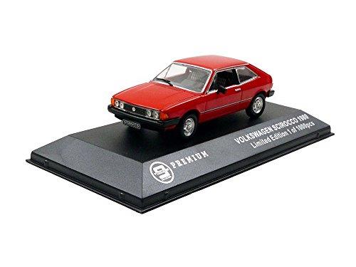 Triple 9t9p10027Volkswagen Scirocco–1980–Maßstab 1/43, rot