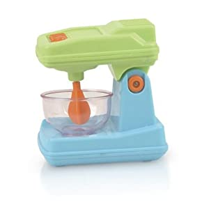 Gourmet Kitchen Appliances Toy Pretend Play Set for Kids with Mixer, Toaster, Kettle and Accessories