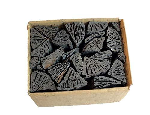 しらおい木炭2kg 2箱入(ナラ切り)・約6cm 無煙無臭の硬質黒炭。北海道産・国産、BBQ炭