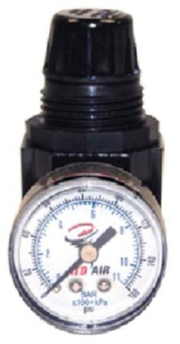 ATD Tools 7841 1/4' NPT Mini Air Regulator with Gauge