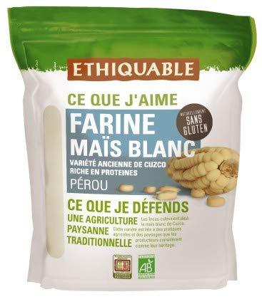 Ethiquable Farine Maïs Blanc Pérou Bio 400 g