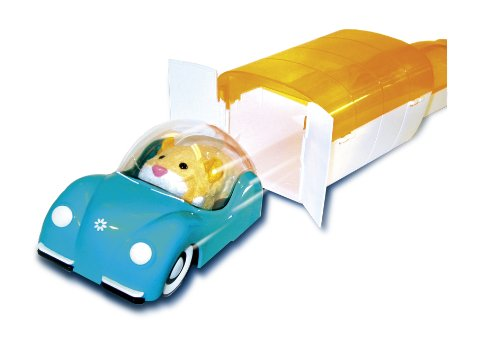 Giochi Preziosi - 79866851 - Set d'extension Hamstermobile et Garage pour Hamster Zhu Zhu (hamster non inclus)