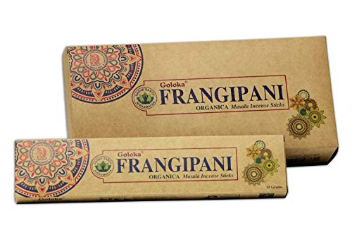 Goloka Organica Series - Frangipani - 6 scatole da 15 grammi (90 grammi totali)