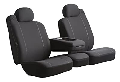 Fia Poly-Cotton Custom Seat Cover Split Seat 60/40