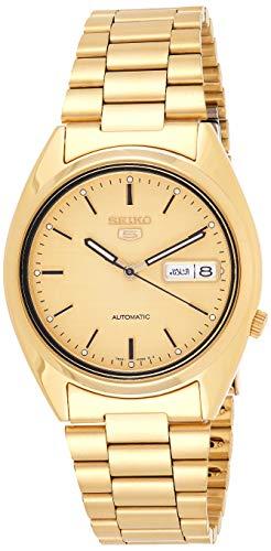Seiko Herren-Armbanduhr 5 Analog Automatik Edelstahl SNXL72
