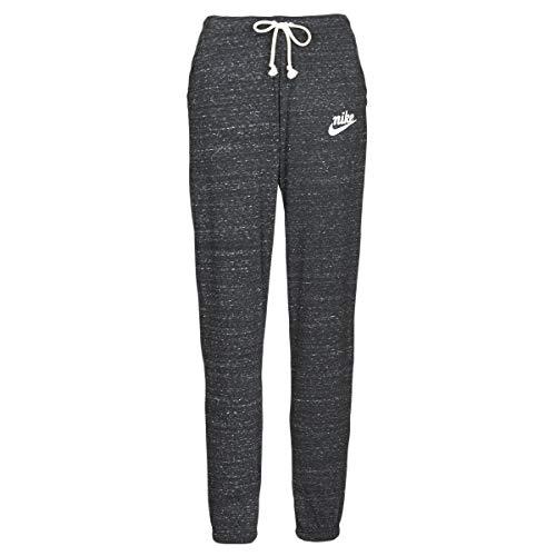 Nike Damen Hose Sportswear Gym Vintage, Black/Sail, S, CJ1793-010