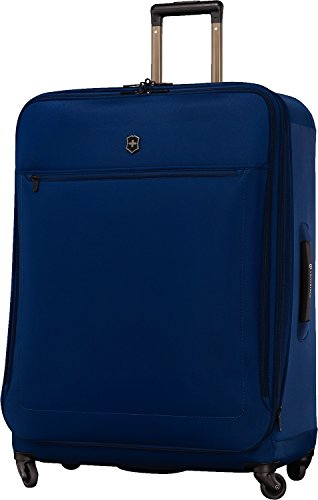 Victorinox Avolve 3.0 Softside Expandable Spinner Luggage, Blue, Checked- Extra Large (32')
