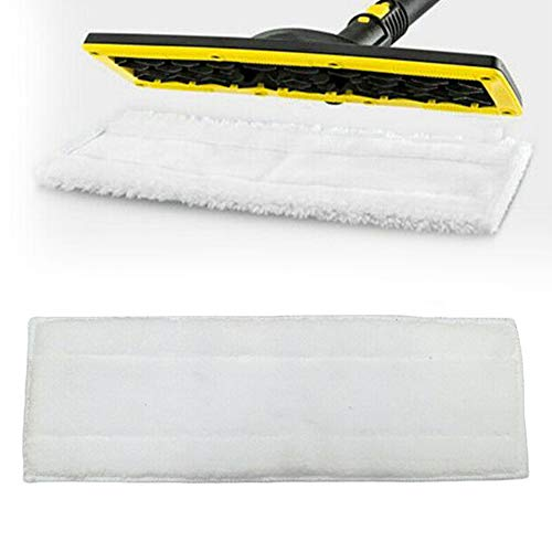 LYXMY Mop doek vervangend onderdeel, Stoomreiniger vloerdoek voor KARCHER EASYFIX SC1 SC2 SC3, Ultra-wide Mop Special Fiber, passend op de grond