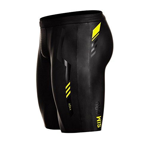 ROKA Men's SIM Pro II Neoprene Buoyancy Shorts for Swimming Racing and Triathlon Small