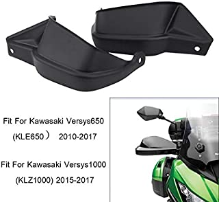 The Alley - Motorcycle Hand Guard Shells Hand bar Cover for Kawasaki Versys 650 KLE650 2010 2011 2012 2013 2014 2015 2016 2017