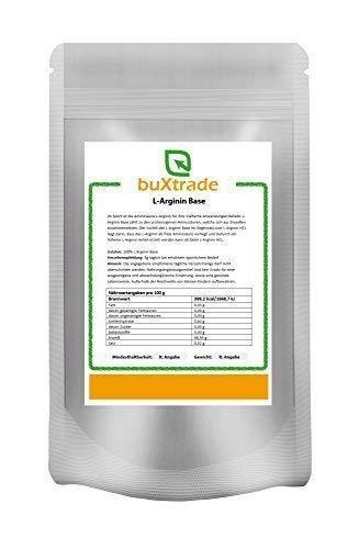 250 g L-Arginin Base Pulver   reine Aminosäure   Hochdosiert   Nahrungsergänzungsmittel   Ohne Zusatz  