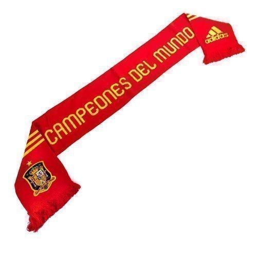 Spagna Campioni Del Mondo Sciarpa-tifoso Adidas Edizione Speciale